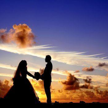 foto de boda pareja de novios wedding planner