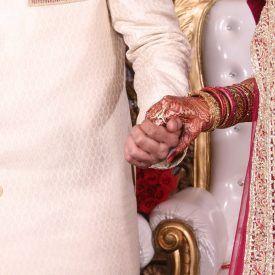 foto de boda madrina
