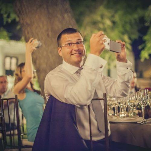 fotos invitados boda durante el banquete