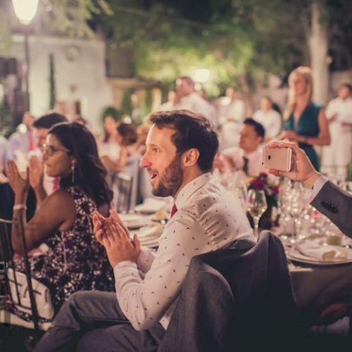 fotos invitados en boda