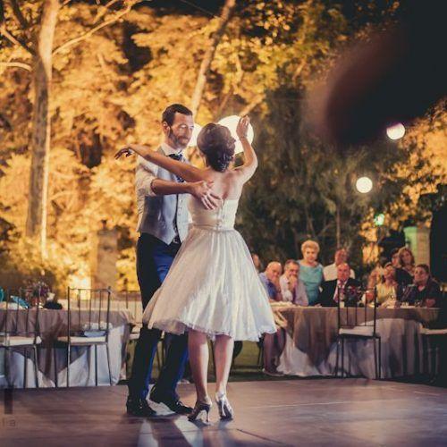 fotos baile novios boda