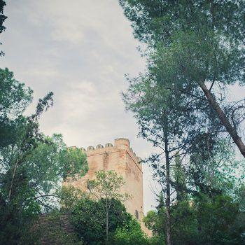 castillo para la celebración de una boda
