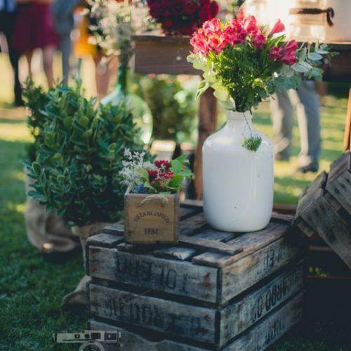 decoración con flores boda