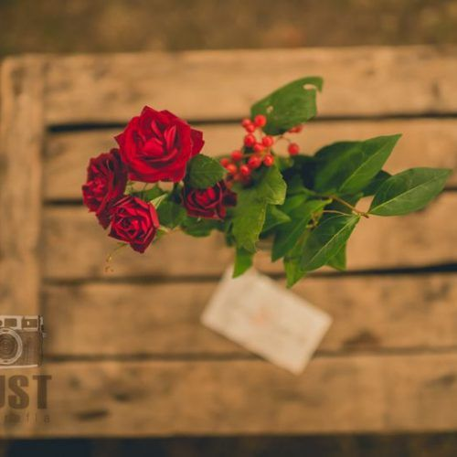 rosas de boda