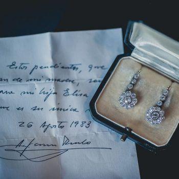 Regalo de Pendientes wedding planner madrid